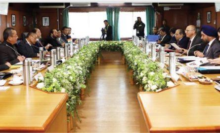 Nagaland seeks spl funding, points to geopolitical factors & 16 Pt agreement