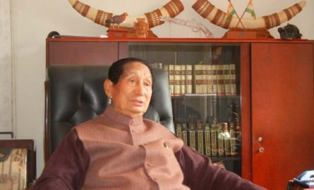 Right time to resolve Indo-Naga political problem: SC Jamir